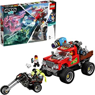 LEGO 70421 Hidden Side El Fuego's Stunt Truck Toy, AR Games App, Interactive Augmented Reality Ghost Playset for iPhone/An...