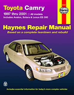 Toyota Camry (97-01), Solara (99-01), Avalon (97-01), & Lexus ES 300 (97-01) Haynes Repair Manual