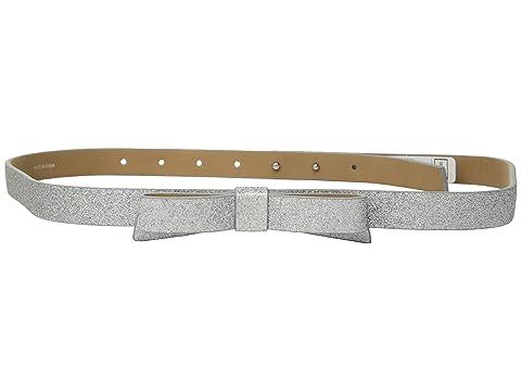 Kate Spade New York 19mm Glitter Bow Belt
