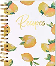 Blank Recipe Book to Write in Hardcover Spiral Bound - Empty Recipe Notebook/Journal - Make Your Own Cookbook For Family R...