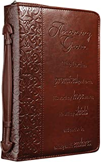 Amazing Grace Embossed Bible / Book Cover (Medium)