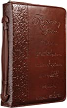 embossed leather bible cover
