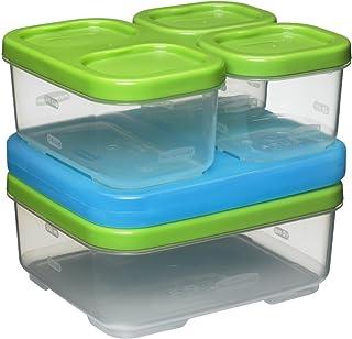 Rubbermaid LunchBlox Sandwich Kit, Green 1806231,Green, Blue
