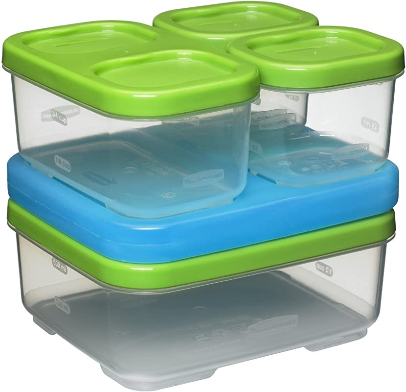Rubbermaid LunchBlox Sandwich Kit Green 1806231