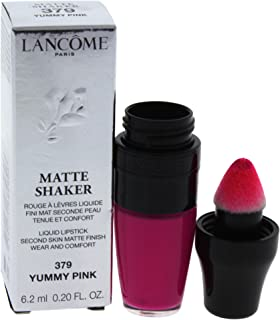 Lancome Matte Shaker Liquid Lipstick, Yummy Pink, 0.2 Ounce