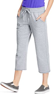 Premium Womens French Terry Capri with pockets