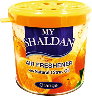 My Shaldan Orange Car Air Freshener (80 g)