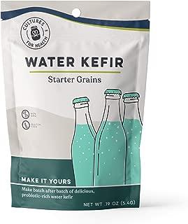 Water Kefir Grains | Cultures for Health | Organic, Gluten Free, Non GMO