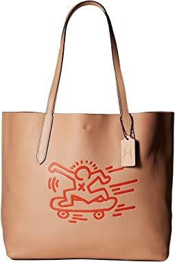 Keith Haring Hudson Leather Tote