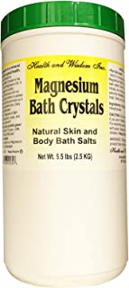 Health and Wisdom Magnesium Bath Crystals, 5.5 lbs (2.5 kg)