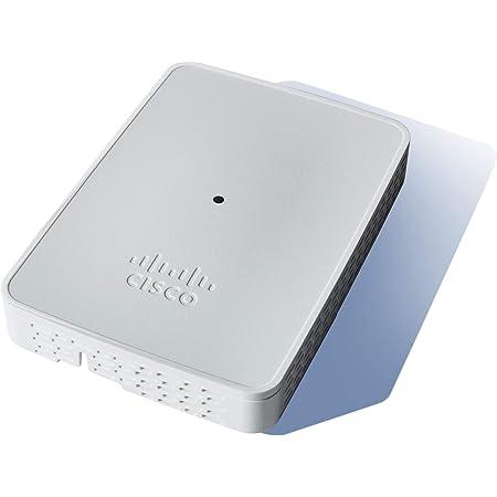 Cisco Business 143ACM 802.11ac 2x2 Wave 2 Mesh Extender 1 Porta GbE - Montaggio a Parete, Protezione Limitata a Vita (CBW143ACM-E-EU) - Richiede i Punti di Accesso Wireless Business