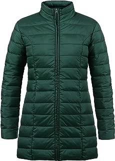 Dettagli su giacca trapuntata giubbotto donna S 42 giubbino jacket verde piumino slim