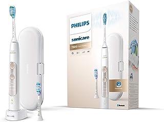 Philips HX9601/03 Sonicare ExpertClean 7300 Elektrisk Tandborste, med USB Resväska, Vit/Guld