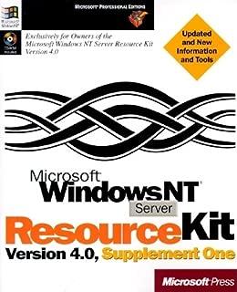 microsoft windows nt server 4.0 resource kit