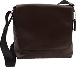 Coach Charles Small Messenger In Signature Crossgrain Leather, F72220