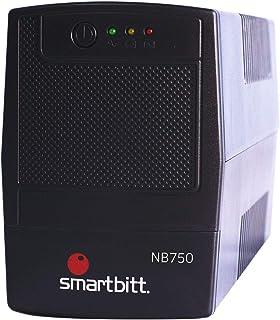 Smartbitt - No-Break Interactivo, Regulador y Supresor de Picos - UPS Ideal para apagones y Cortes de energía - Batería de...