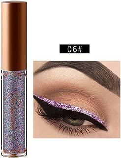 Shusuen Waterproof Long Lasting Liquid Eye Liner Pen Glitter Metallic Shimmer Face Lips Art for Party Festival Makeup