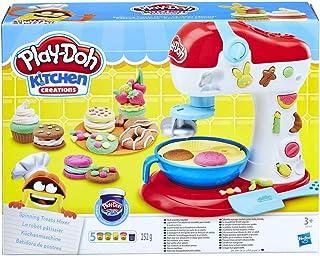 Play-Doh Kitchen Creations keukenmixer - speelgoedkeukenset voor kinderen vanaf 3 jaar met 6 kleuren Play-Doh