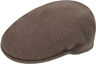 Kangol Men's 521 Flat Ivy Cap HAT, Cocoa, L