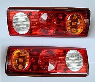 6/piezas 24/V SMD LED cola luces hamburguesa estilo luces traseras cami/ón trailer chasis Caravan Tipper E-marked