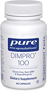 Pure Encapsulations DIMPRO 100 | Antioxidant Supplement to Support Hormone Metabolism, Prostate, and Breast Health* | 60 C...