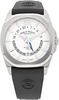 Armand Nicolet Gents-Wristwatch J09-2 GMT Date Analog Automatic A653AAA-AG-GG4710N