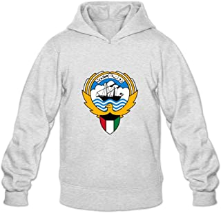 Coat Of Arms Of Kuwait Crazy Roundneck Long Sleeve Hoodies For Adult