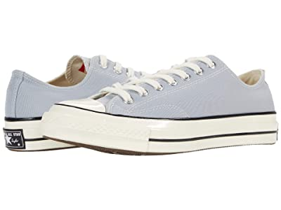 Converse Chuck 70 OX (Wolf Grey/Black/Egret) Athletic Shoes
