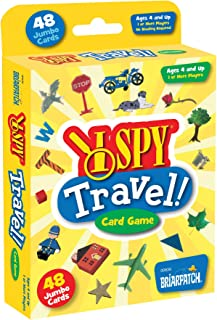 I SPY Travel Card Game for Kids, Entertain Children on a Long Road Trip with a Hunt and Seek Card Game