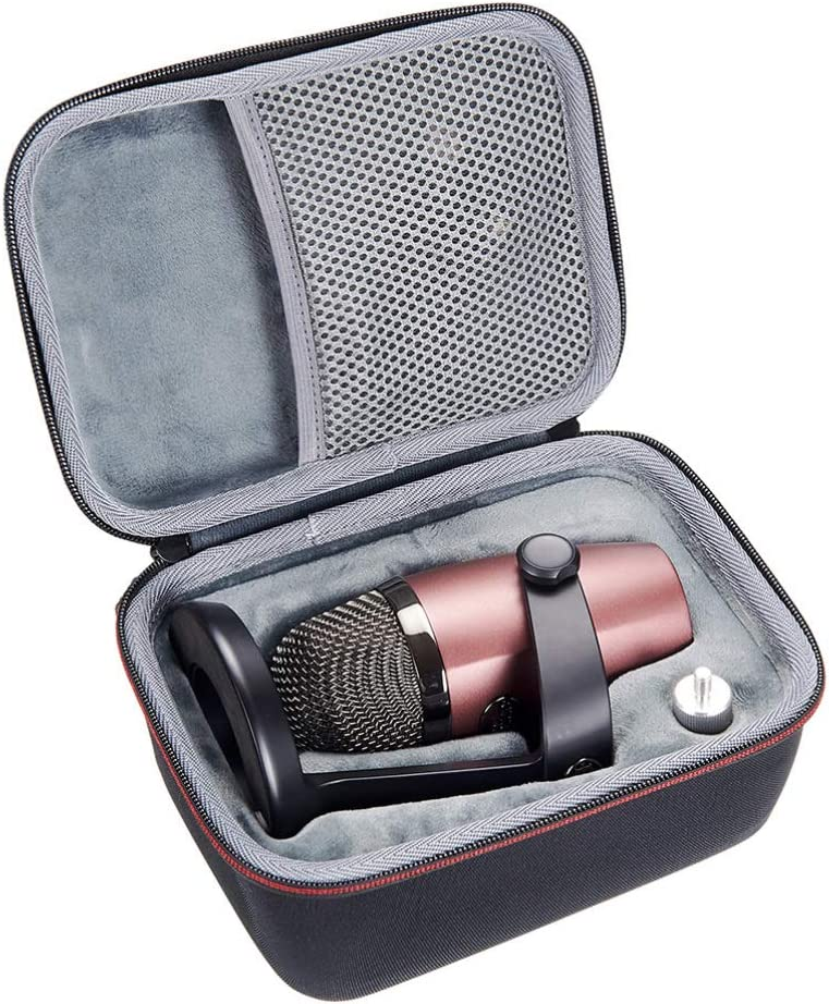 New product!! Generic Carrying Bag San Antonio Mall for Blue and Accessories Hard Microphone E