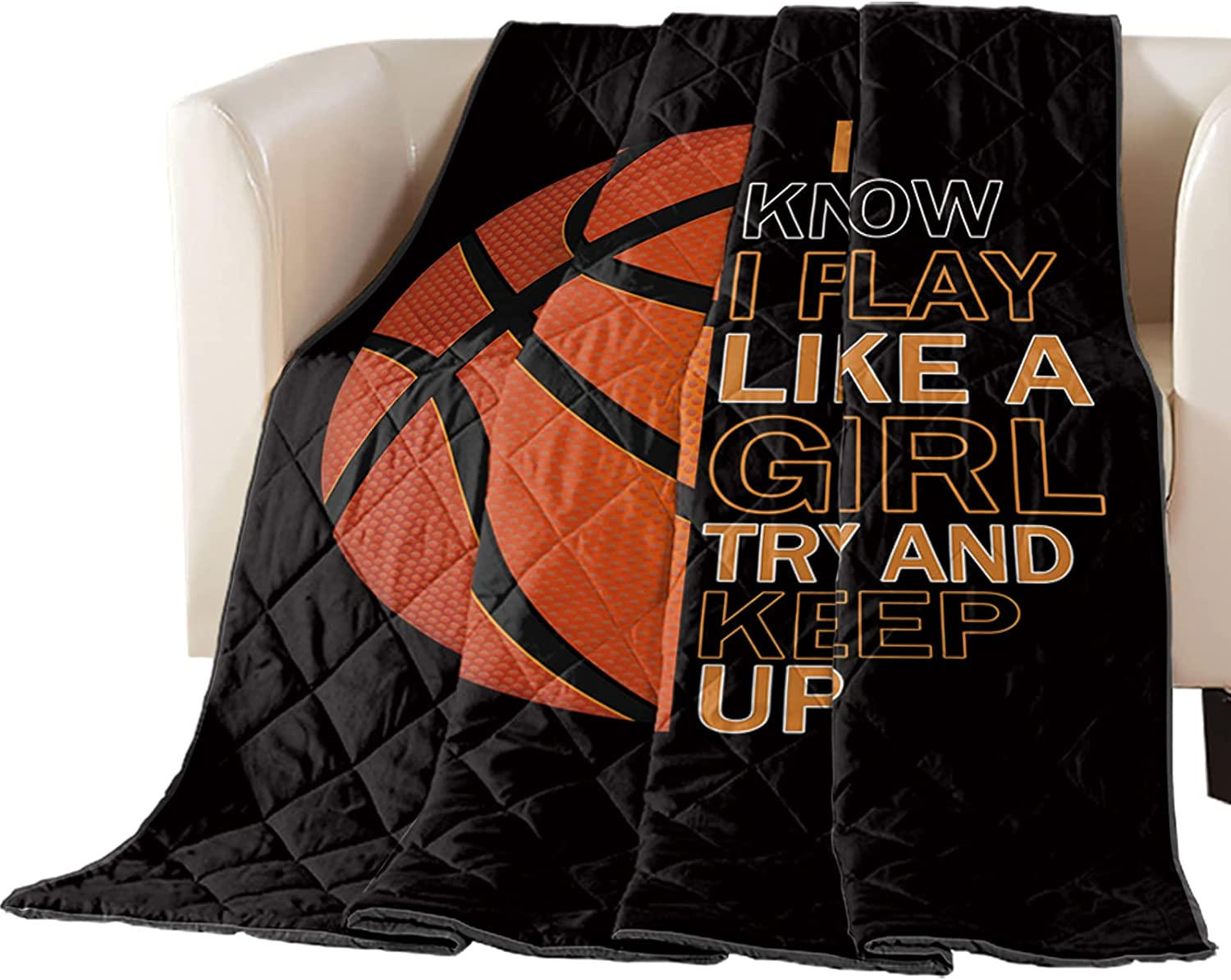 DecorLovee Bedding Ranking Year-end annual account TOP11 Duvets Basketball Sport Word with Black and