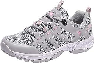 CAMEL CROWN أحذية المشي لمسافات طويلة للنساء حذاء الرحلات منخفض في الهواء الطلق المشي الجلد الرياضي