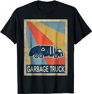 Vintage style Garbage truck Tshirt