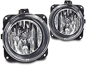 RP Remarkable Power, FL7092 Fit For 05-06 Escape/00-05 Focus SVT/03-04 Mustang Cobras/02 Lincoln LS Clear Bumper Fog Lights Only