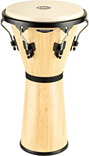 Meinl Djembe with Mahogany Wood-NOT Made in CHINA-12 Large Size Rope Tuned Goat Skin Head 2-Year Warranty HDJ1-L