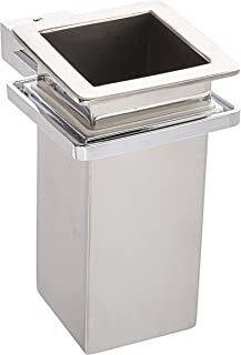 Gedy 3810-01-13 Kansas Wall Mounted Stainless Steel Tooth Brush Holder, 0.79