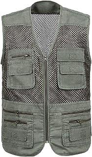 Howely Men Outdoor Quick Dry Breathable Lightweight Summer Travel Vest