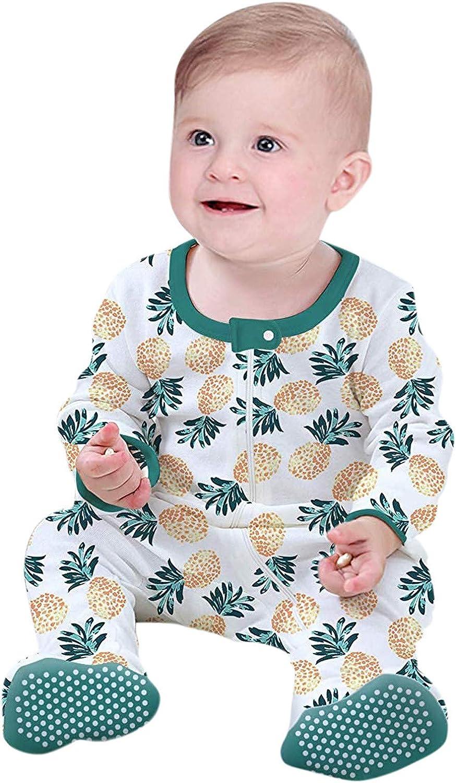 Short supreme Sleeve Minneapolis Mall Footless Romper Infant Boys Pr Girls Pineapple Baby