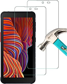 TQmate 2 pièces, Verre Trempé Compatible avec Samsung Galaxy Xcover 5, pour Galaxy Xcover 5 Film Protection écran, Anti Sc...