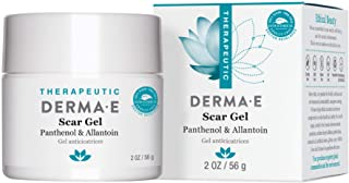 DERMA E Scar Gel - Therapeutic gel with Panthenol & Allantoin - Effective treatment & natural scar removal. Treats acne sc...