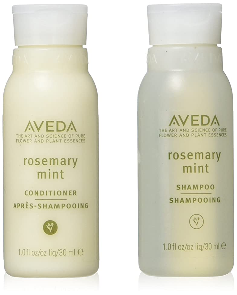 Aveda Rosemary Mint Conditioner and Shampoo Lot of 24 Bottles (12 of each). Total of 24oz.