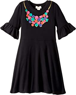 Gem Necklace Dress (Little Kids/Big Kids)