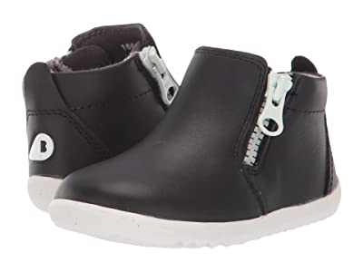 Bobux Kids Step Up Tasman Boot (Infant/Toddler) (Black) Kid