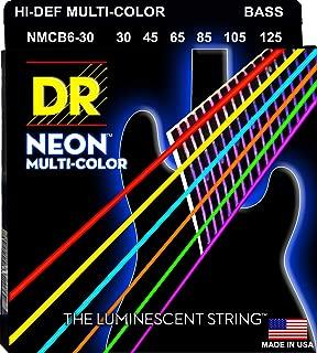 DR Strings HI-DEF NEON Bass Guitar Strings (NMCB6-30)