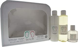 Eau My Bb 3 Peice Gift Set Eau De Senteur Cologne Spray for Kids, Shower Gel & Shampoo, Body Lotion, 3 Count