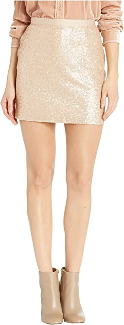 Time To Shine Sequin Mini Skirt