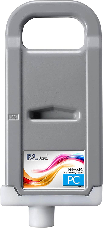 PL ART. PFI-706PC Pigment Ink Refillable Tank 700ml Super special price Genuine Free Shipping Cartridge