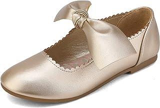DREAM PAIRS کفش های دخترانه رقصنده بالرین کفش های پاپیونی Mary Jane
