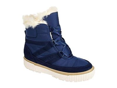 Journee Collection Comfort Foam Slope Winter Boot (Navy) Women
