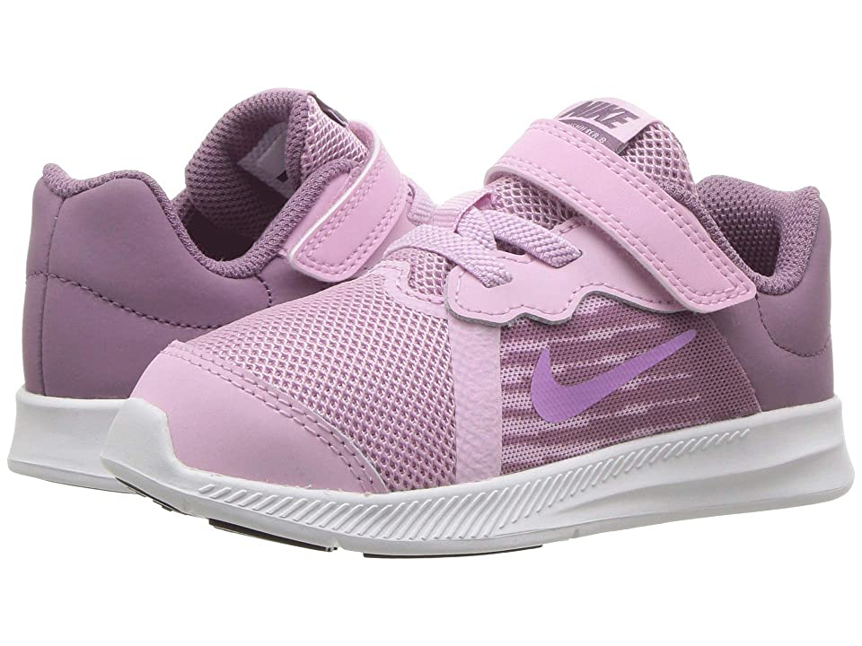 Nike Kids Downshifter 8 (Infant/Toddler) (Light Arctic Pink/Fuchsia Glow/Violet Dust) Girls Shoes